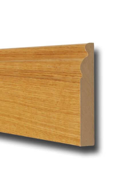 Oak Moulded Skirting 4.2m Length